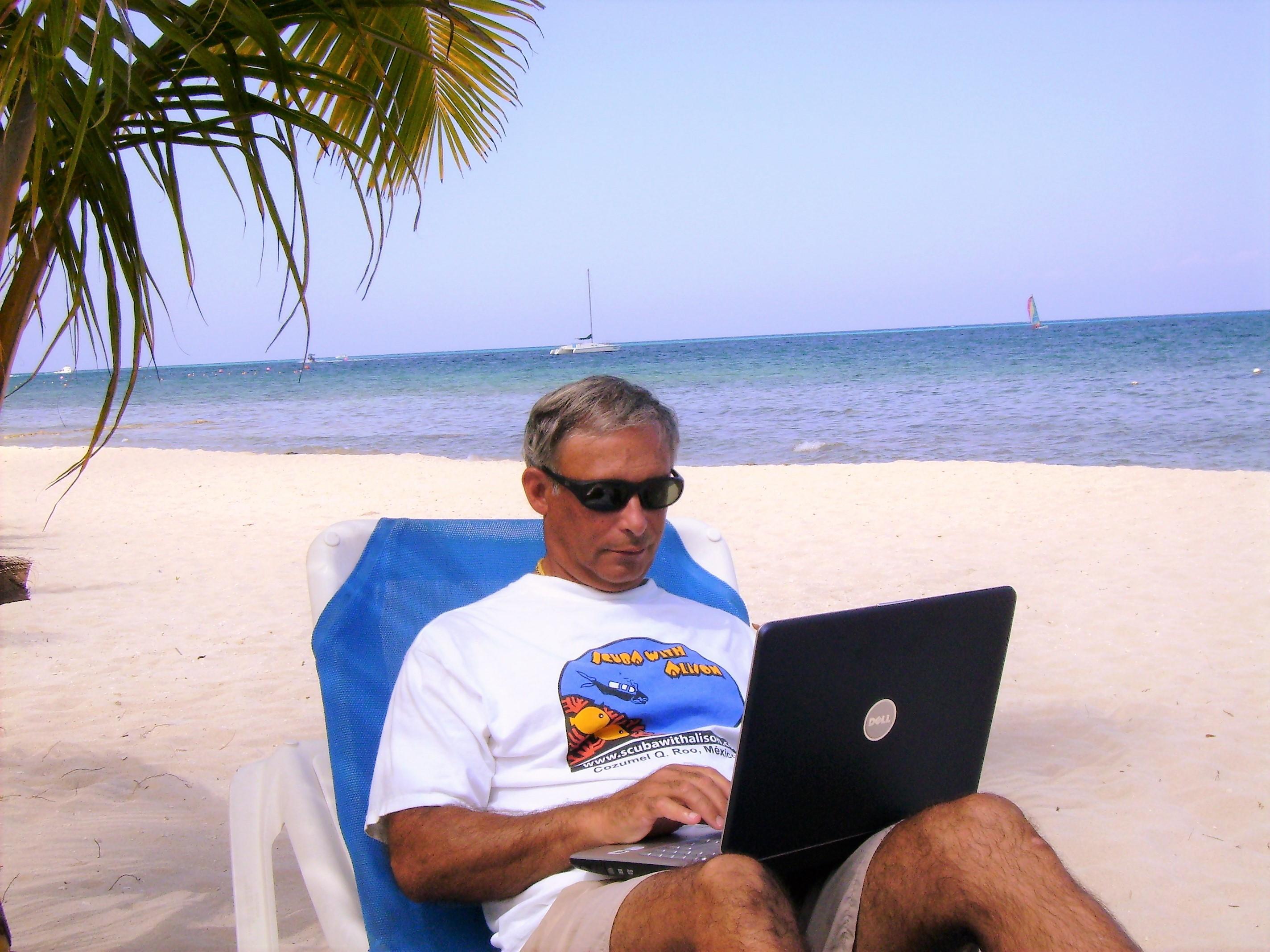 Paul working 4
