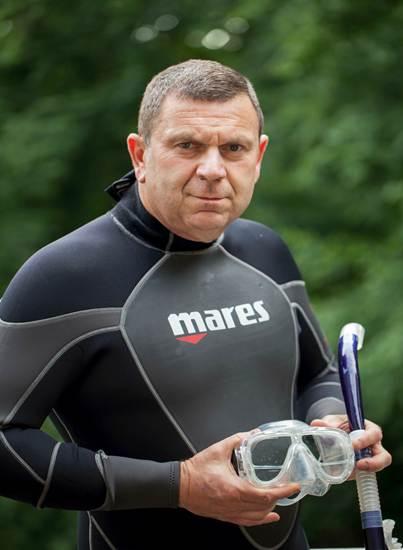 David Charash DO and Diver