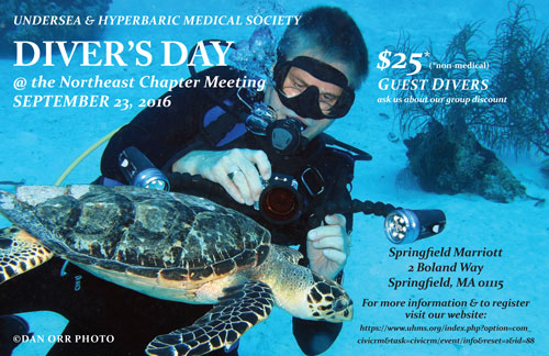 2016 Divers Day postcard NE Chapter