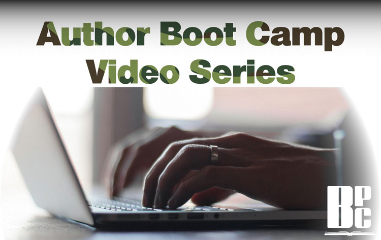 Author Boot Camp Video Series video graphic w