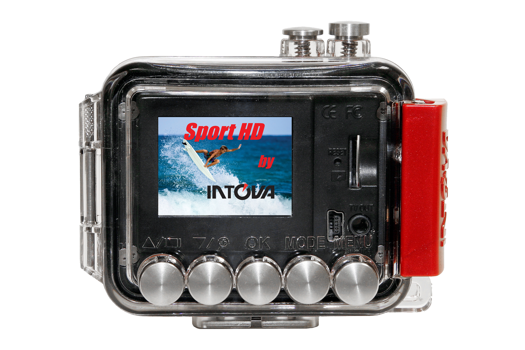 Sport HD II rear view with surfer graphic 4x6