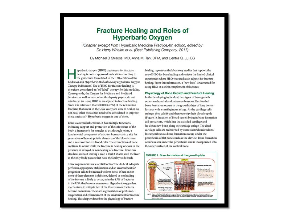 Fracture Healing and Roles of Hyperbaric Oxygen