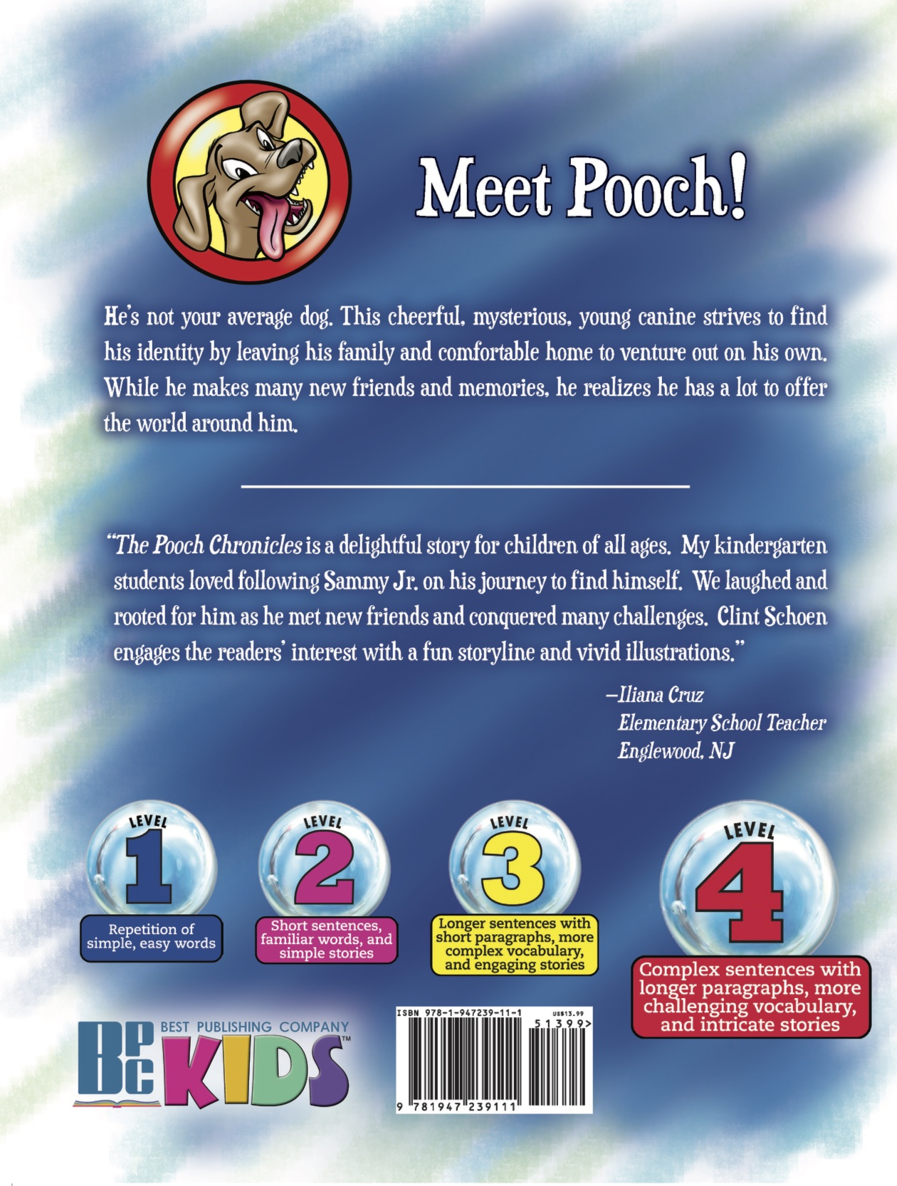 Pooch Chronicles back cover