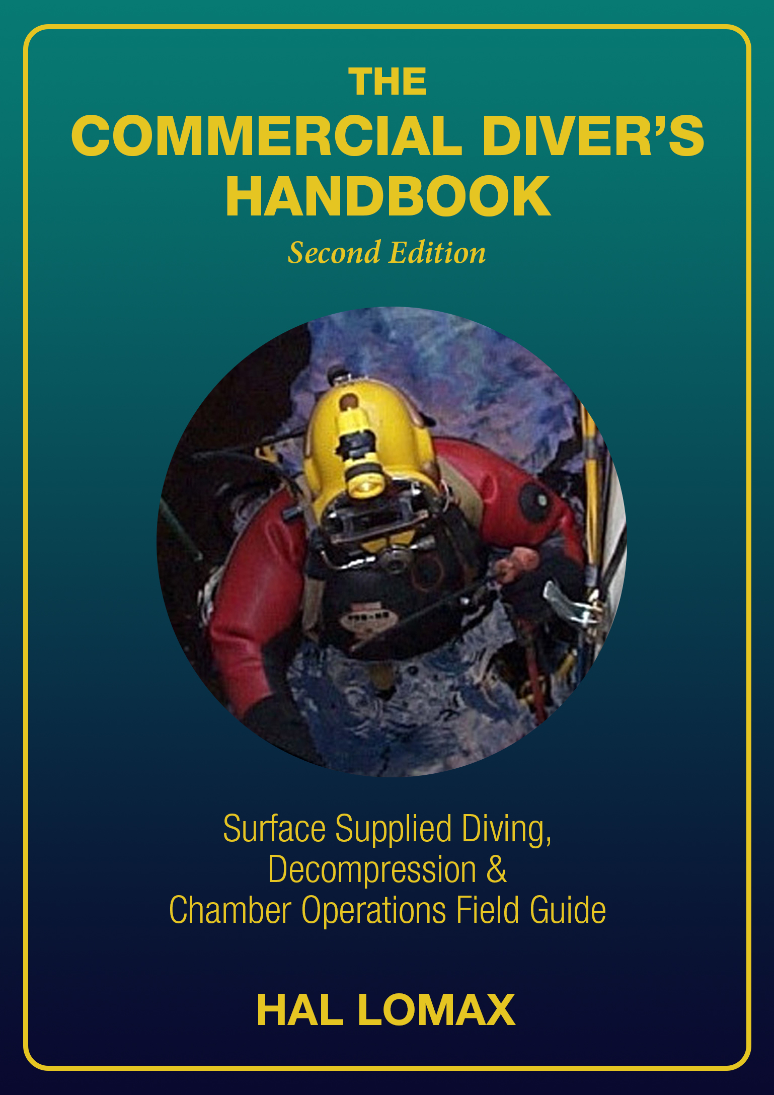 Front Cover Final Commercial Diver Handbook 5x7 COVER Gradient