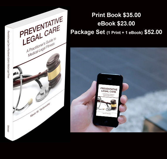 Preventative Legal Care Print Book and eBook w