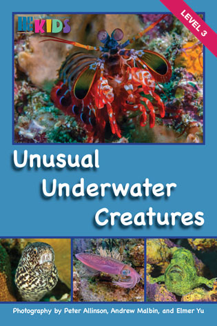 Unusual Underwater Creatures Cover W