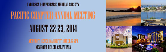 UHMS Pacific Coast Chapter Meeting 2014