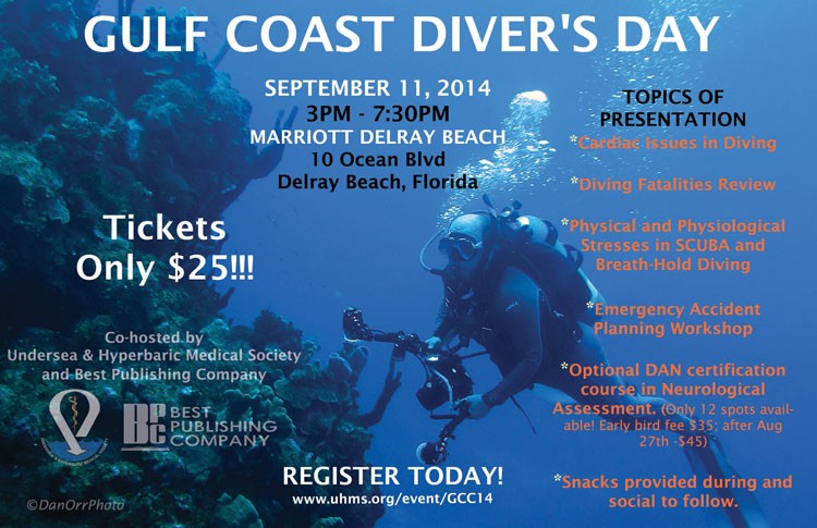 Gulf Coast Diver's Day Coming Soon! September 11th in Delray Beach, Florida