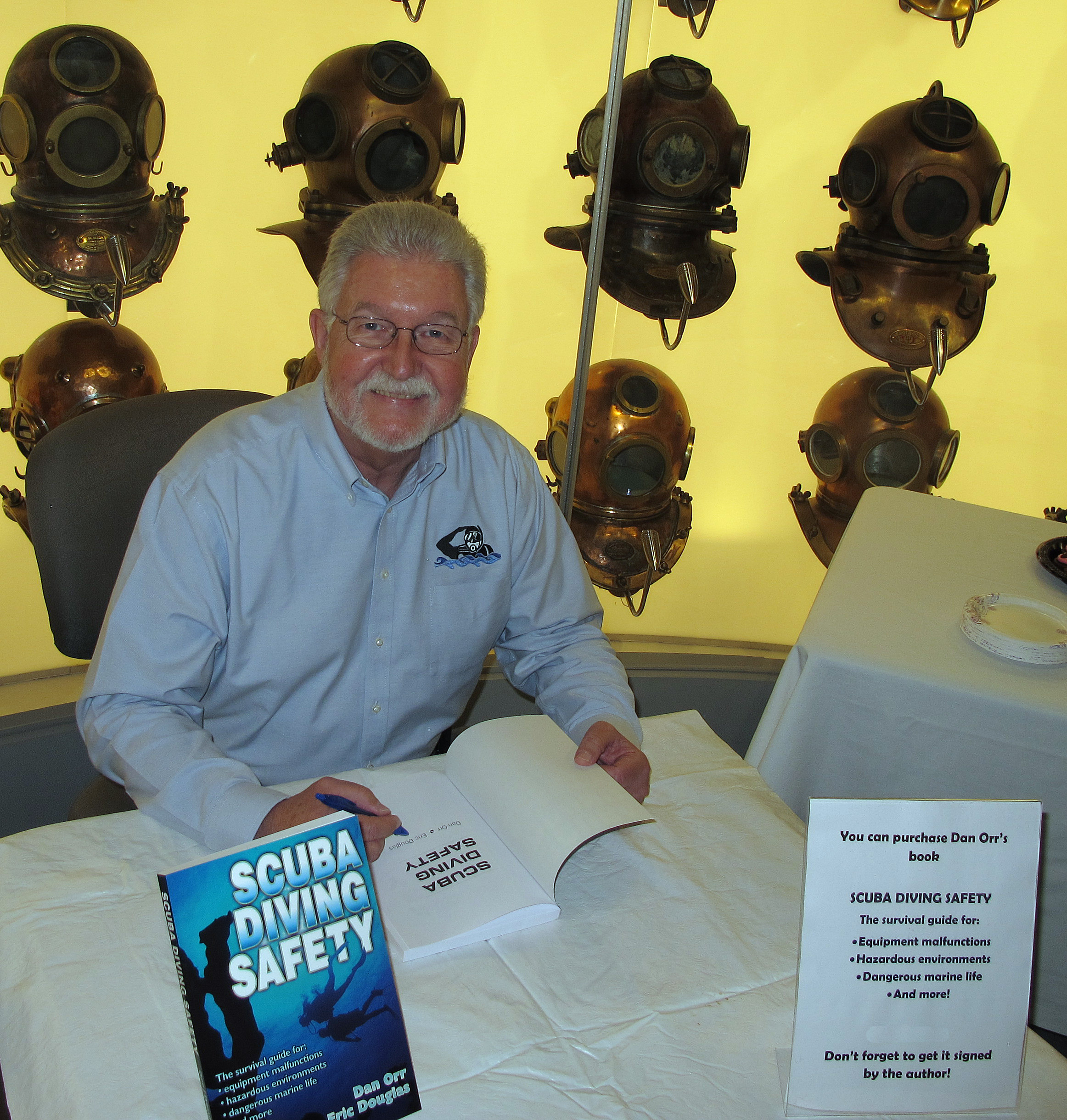 Dan Orr author of Scuba Diving Safety