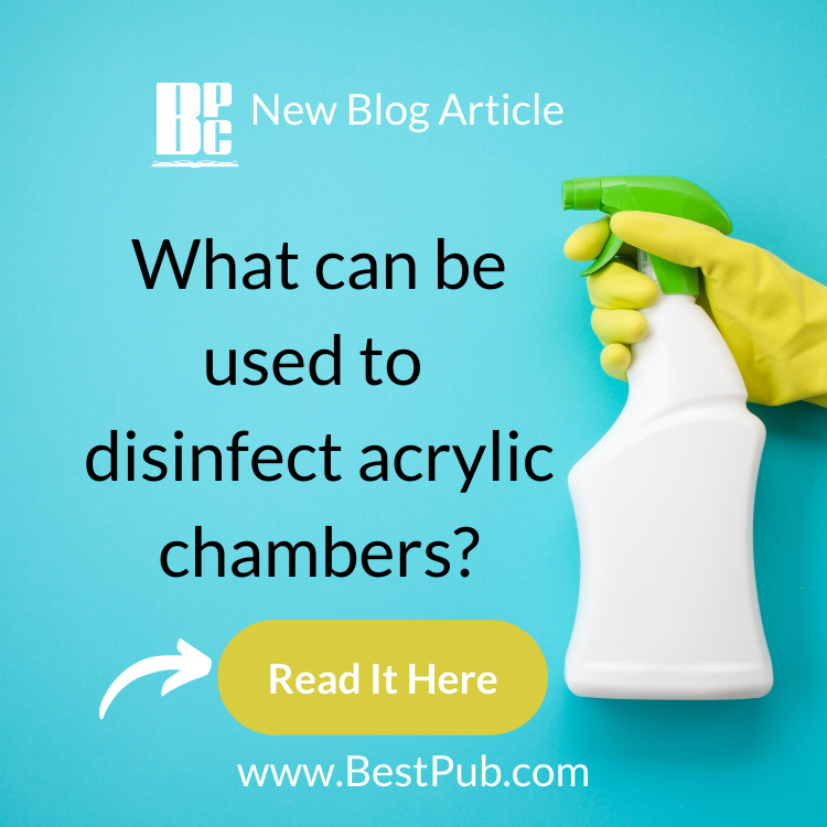 What can now be used to disinfect acrylic chambers 2