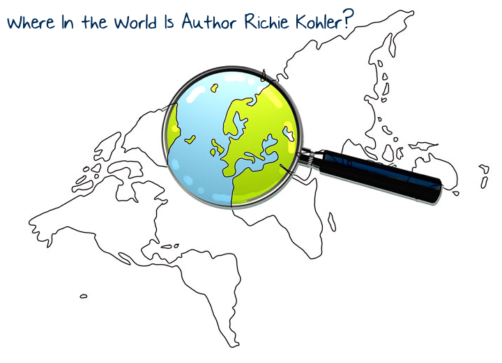 Where in the world is author richie kohler