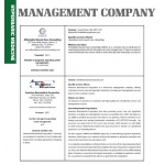 Management Company Comparison