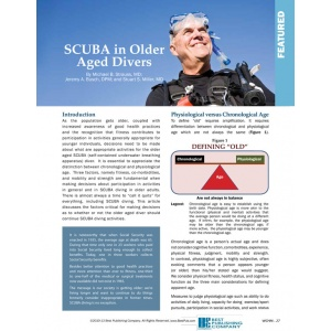 SCUBA in Older Aged Divers