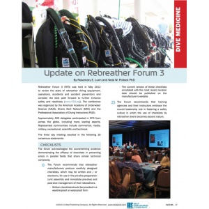Update on Rebreather Forum 3